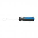 Отвертка кръстата UNIOR PZ2 6.0х210/100мм, CrV-Mo, трикомпонентна дръжка - small