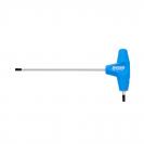 Отвертка торкс Т-образна UNIOR TX 8 155мм, двустранна, закалена, CrV, еднокомпонентна дръжка - small
