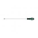 Отверткa кръстата NAREX PROFI LINE S PH2 6.0х400/300мм, удължена, стомана, двукомпонентна дръжка - small