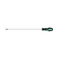 Отверткa кръстата NAREX PROFI LINE S PH2 6.0х400/300мм, удължена, стомана, двукомпонентна дръжка
