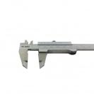 Шублер двустранен ЗИИУ Стандарт 0150 150мм, ± 0.05, с дълбокомер, стопорен винт, неръждаема стомана - small, 116401