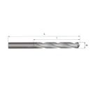 Свредло ABRABORO 10.5x133/87мм, за метал, DIN338, HSS-R, горещо валцовано, цилиндрична опашка - small, 89224