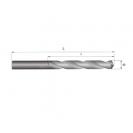 Свредло за метал ABRABORO 2.4x57/30мм, DIN338, HSS-R, горещо валцовано, цилиндрична опашка - small, 89011
