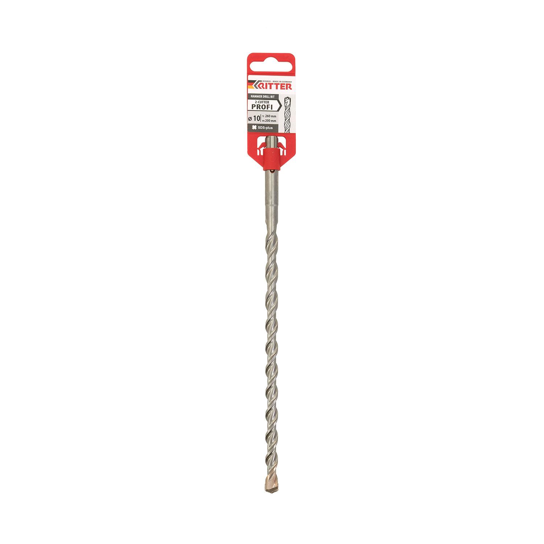 Свредло DREBO 4 PLUS 10x310/250мм, за бетон, HM, 2 режещи ръба, SDS-plus - big, 114083