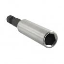 Удължител за накрайници NAREX 60мм, 1/4'', E6.3, с магнит - small, 96365