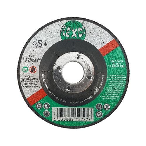 Диск карбофлексов SWATYCOMET FLEXCO 115х6.0х22.23мм, за шлайфане на неметал
