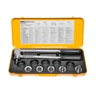 Калибратор ръчен за муфиране на тръби REMS EX-PRESS CU SET, 15, 18, 22 и 28мм, комплект