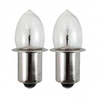 Крушка електрическа MAKITA 9.6V, 4.8W, 0.5A, за ML901, ML902, ML903, 2бр к-кт