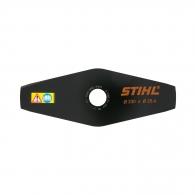 Нож за косене STIHL 230х25.4мм, двустранен, за подравняване на жилава трева и плевели