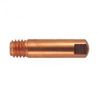 Дюза за телоподаващо устройство BINZEL М6/0.6/D=6.0/25мм, медна (E-CU)
