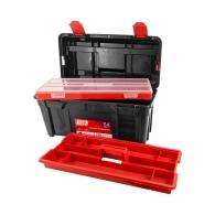 Куфар за инструменти TAYG 34, с органайзер и тава, полипропилен, черен