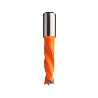 Свредло за дърво CMT 5x57.5/30мм, LH-ляво, HW, Z2, V2, цилиндрична опашка 10x20мм