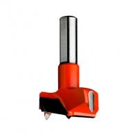 Свредло за панти CMT 15х57.5, RH-дясно, HW, Z2, V2, цилиндрична опашка 10х26мм