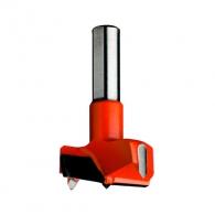 Свредло за панти CMT 35х57.5, LH-ляво, HW, Z2, V2, цилиндрична опашка 10х26мм