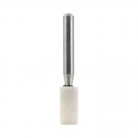 Абразивен шлайфгрифер SWATYCOMET 10х20х6мм, форма OB-цилиндър, цвят бял, 22А