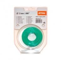 Корда STIHL 2.0мм/15.2м, кръгла, дължина 15.2м, зелена