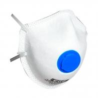 Маска EGE 2403 V FFP2 NR D, с клапа, сгъваема, бяла