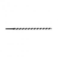 Свредло винтово за дърво PROJAHN LEWIS 12x460/385мм, CV-стомана, цилиндрична опашка