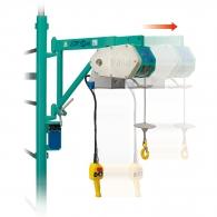 Лебедка подемна електрическа IMER ETR200, 700W, 200кг, 25м/5.0мм - въже