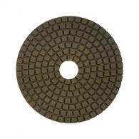 Диск за полиране DIMO 100х2.4мм P100, за мокро полиране на гранит, мрамор и подова мозайка, светло кафяв