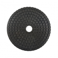 Диск за полиране DIMO 100х2.4мм P150, за мокро полиране на гранит, мрамор и подова мозайка, черен