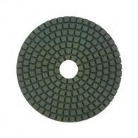 Диск за полиране DIMO 100х2.4мм P2000, за мокро полиране на гранит, мрамор и подова мозайка, светло зелен