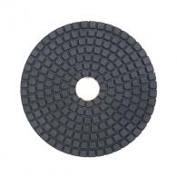 Диск за полиране DIMO 100х2.4мм P300, за мокро полиране на гранит, мрамор и подова мозайка, оранжев