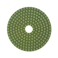 Диск за полиране DIMO 100х2.4мм P3000, за мокро полиране на гранит, мрамор и подова мозайка, тъмно кафяв