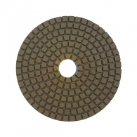 Диск за полиране DIMO 100х2.4мм P50, за мокро полиране на гранит, мрамор и подова мозайка, тъмно син