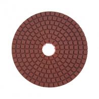 Диск за полиране DIMO 100х2.4мм P500, за мокро полиране на гранит, мрамор и подова мозайка, червен