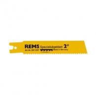 Нож за ел.ножовка REMS 2.5х140/120мм, стоманени тръби, HSS-Bi, захват REMS