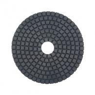 Диск за полиране DIMO 100х2.4мм P10000, за мокро полиране на гранит, мрамор и подова мозайка, черен