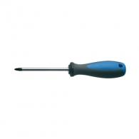 Отвертка кръстата UNIOR PZ1 4.5х180/80мм, CrV-Mo, трикомпонентна дръжка