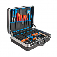Комплект инструменти UNIOR VDE 52части, 1000V, отвертки, клещи, в куфар