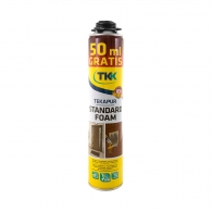 Полиуретанова пяна TKK Tekapur Standard, 750мл, пистолетна, лятна (над +5°C)