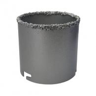 Боркорона с посипка от волфрам-карбид KEIL 83х66/60мм, захват шлици, за керамика, фаянс, теракот и порцелан