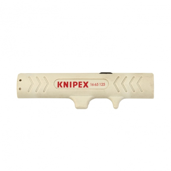 Инструмент за почистване на кабели KNIPEX 4.5-10мм, кръгли кабели (тип UTP и STP)