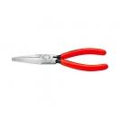 Клещи жустерни KNIPEX 160мм, прави, CrV, плоски челюсти, еднокомпонентна дръжка - small
