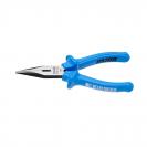 Клещи жустерни UNIOR 160мм, прави, CS, полукръгли плоски челюсти, еднокомпонентна дръжка - small