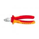 Клещи резачки KNIPEX ф1.5-3.0/125мм, VS, двукомпонентна дръжка, 1000V - small