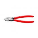 Клещи резачки KNIPEX ф1.5-3.0/125мм, VS, еднокомпонента дръжка - small