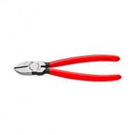 Клещи резачки KNIPEX ф1.5-3.0/125мм, VS, еднокомпонента дръжка