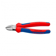 Клещи резачки KNIPEX ф1.8-4.0/140мм, VS, двукомпонентна дръжка