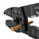 Клещи за кабелни обувки KNIPEX 0.5-2.5мм2, за изолирани и не изолирани обувки, двукомпонентни дръжки - small, 107222