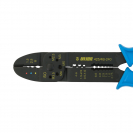 Клещи за кабелни обувки UNIOR 1.5-6.0мм2, за изолирани и не изолирани обувки, еднокомпонентни дръжки - small, 109592