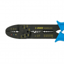 Клещи за кабелни обувки UNIOR 1.5-6.0мм2, за изолирани и не изолирани обувки, еднокомпонентни дръжки - small, 109599