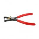 Клещи за заголване на кабели KNIPEX 0.5-10кв.мм/160мм, регулиращ винт, CS, еднокомпонентна дръжка - small, 144537