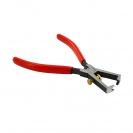 Клещи за заголване на кабели KNIPEX 0.5-10кв.мм/160мм, регулиращ винт, CS, еднокомпонентна дръжка - small, 144538