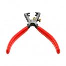 Клещи за заголване на кабели KNIPEX 0.5-10кв.мм/160мм, регулиращ винт, CS, еднокомпонентна дръжка - small, 144540