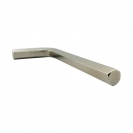 Ключ Г-образен UNIOR 3.0мм, шестостен, никелиран, закален, CrV - small, 44465